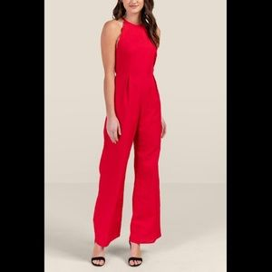 New Francesca Red Jumpsuit